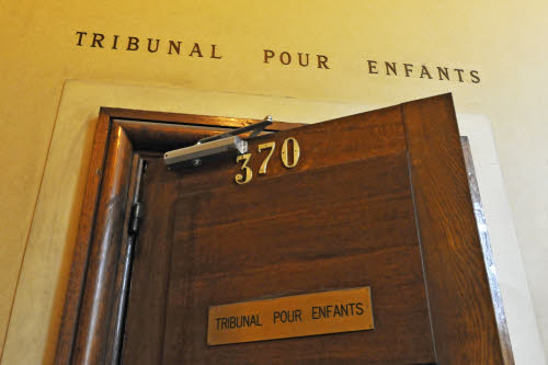 Palais de Justice de Paris. Tribunal pour enfants (TPE). Modernisation des locaux par l'ARE Paris.